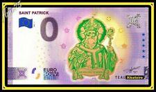 Billet 0 euro Souvenir EIRE IRLANDE - SAINT PATRICK TEAU 2021 Gold OR