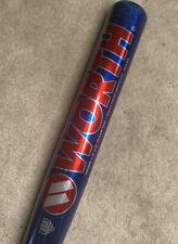 34/26 Team Worth Supercell Slowpitch Softball Bat SBWR Aluminum Alloy ASA