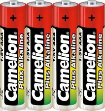 100 x Camelion AAA Batterie LR03 1,5V Plus Alkaline High Energy Micro 25 x 4 St.