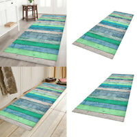2 Piece Non Slip Runner Rug Kitchen Room Floor Mat Doormat Carpets Entrance Rugs