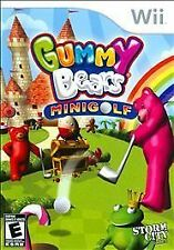 Nintendo Wii : Gummy Bears Mini Golf VideoGames