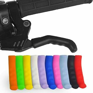 Brake Lever Silicone Skin Cover Grip Protector in Pair MTB Hybrid BMX Fixie