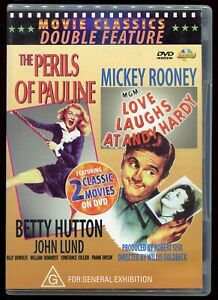 The Perils Of Pauline / Love Laughs At Andy Hardy DVD Classic Comedy Region 4
