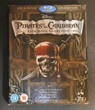 Pirates of the Caribbean 1-4 Blu-ray (2013) CASE ONLY NO  Disc