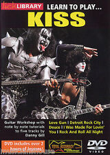 Lick Library Aprende A Tocar Kiss lección tutor Metal Ace Frehley Rock Guitarra Dvd