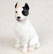 PIT BULL TERRIER PITBULL TINY ONES DOG Figurine Statue Pet Resin