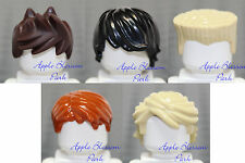 NEW Lego Set/5 MINIFIG HAIR -Ninjago Ninja Kai Jay Zane Cole Lloyd Head Gear Lot