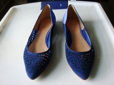 Belle Sigerson Morrison NIB vada2 blue navy flats shoes US 7.5