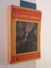 IL DOPPIO ENIGMA A Conan Doyle Martucci I gialli del domino nero VI 1936 giallo