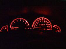 RED LED Dash CLuster LCD Light Kit Bulbs VT VX VU Commodore Berlina Calais