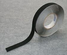 "Anti Skid Non Slip Tread Tape 25mm (1"") wide Black 5 metre Length"