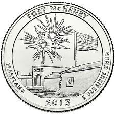 2013 FORT MCHENRY NATIONAL MONUMENT (MARYLAND) P&D SET ****INSTOCK****