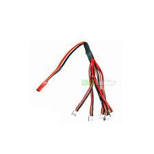 Rc turnigy lipo batterie jst - 6 x pico charge plomb blade MCX/2 msr/x eflite heli