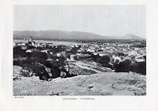 SAINT RAPHAEL VUE GENERALE IMAGE 1908 OLD PRINT