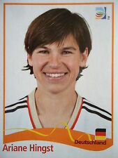 Panini Ariane Hingst Deutschland FIFA Frauen WM 2011 Germany