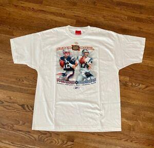 NWOT NFL Super Bowl XXXVIII (38) T-Shirt Patriots v Panthers XL