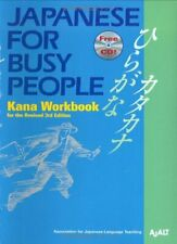 Japanese for Busy People: Kana Workbook Incl. 1 CD By AJALT