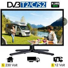 Gelhard GTV1982PVR LED TV 19 Zoll Fernseher DVD DVB-S/S2/T/T2/C 230/12/ 24 Volt