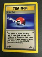 Pokemon - POKEBALL 64/64 - 1st Edition - Jungle Set - Non-Holo - EXC