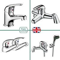 Studio Bathroom Basin Sink Tap Chrome Mono Mixer Single Lever Handle Bath Filler