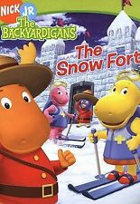 The Backyardigans The Snow Fort (DVD 2005 English And French) Nick Jr