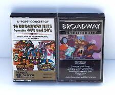Broadway Theater Greatest Hits 2 Set Cassette Tape Set London Philharmonic