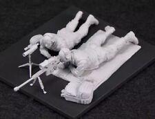 1/35 Resin Figure Model Kit Modern US Soldiers Sniper Team Unpainted Unassambled