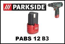 Bateria para Taladro Atornillador Parkside 12v Li Battery for Drill PABS 12 B3