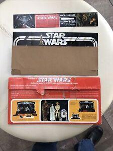 Kenner Star Wars Early Bird Certificate Display Stand Envelope Kit Rare Vintage