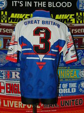 4/5 Great Britain adults XL 90's #3 retro rugby league shirt jersey