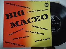 LP 25 cm BIG MACEO-BIG MACEO-CHICAGO BREAKDOWN + 7