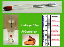 Lakeprüfer - Aräometer - Lakeprober - Lakespindel