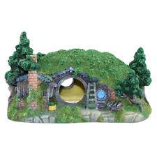 1pc Fish Tank Ornament Mini Simulation Hobbit House Aquarium Decoration for Home