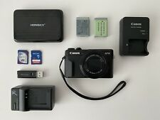 Canon PowerShot G7 X Mark II Digital Camera + Accessories