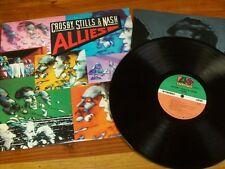 """CROSBY, STILLS &  NASH LP """"Allies"""" VG+ condition"""