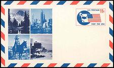 Estados Unidos 1966, 11 quater, visita los Estados Unidos Tarjeta de papelería sin usar #c 15210