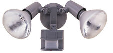 Heathco Floodlite Motion Gry 1013-4054 Light Fixtures: Porch/Security New