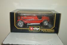 Car Burago 1/18 Alfa Romeo 8C 2300 Monza 1931 New Vintage Box 3014