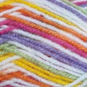 Eylul 5 x 100g Double Knitting Yarn multicoloured variegated white multi, candy