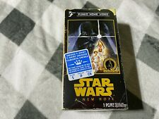 FUNKO VHS STAR WARS A NEW HOPE   Walmart SMALL  T-shirt exclusives
