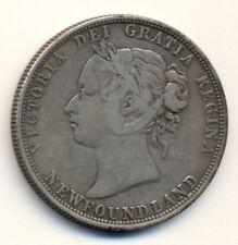 CANADA NEWFOUNDLAND 50¢, 1885, F/VF