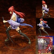 """NEW Anime Gift Fairy Tail Erza Scarlet 18cm/7"""" 1/7 Scale Painted PVC Figure  LHS"""