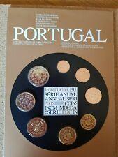 portugal 2006 euro coin postcard