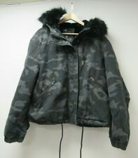 Women's Superdry Toya Rookie Parka Jacket Coat Size 14 - WAR