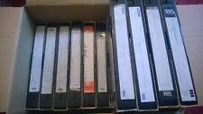 14x VHS Videos Pre-recorded Blank