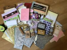 Massive Craft Clearance Bundle Card Blanks Envelopes Paper Embellishments Stamps