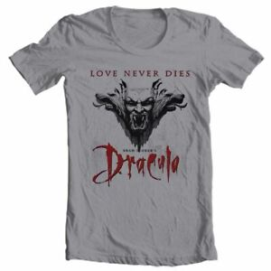 Bram Stokers Dracula t-shirt retro horror movie vampire cotton free shipping