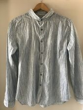Paul Smith Blue 'paint' Stripe Shirt XL