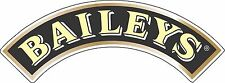 "Baileys  Alcohol Sticker - decal wall, window, vinyl sticker 5""x 2"""