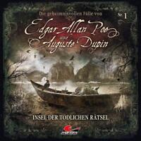 EDGAR ALLAN POE - DIE GEHEIMNISVOLLEN FÄLLE-IM BANN DER ANGST(FOLGE 2)  CD NEU